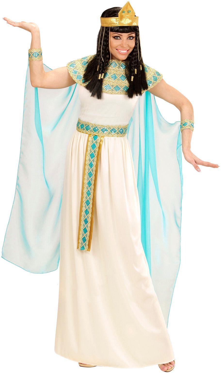 Witte Cleopatra kostuum