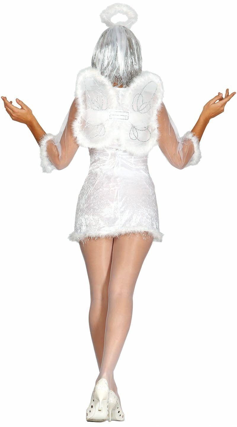 Witte engel kostuum dames
