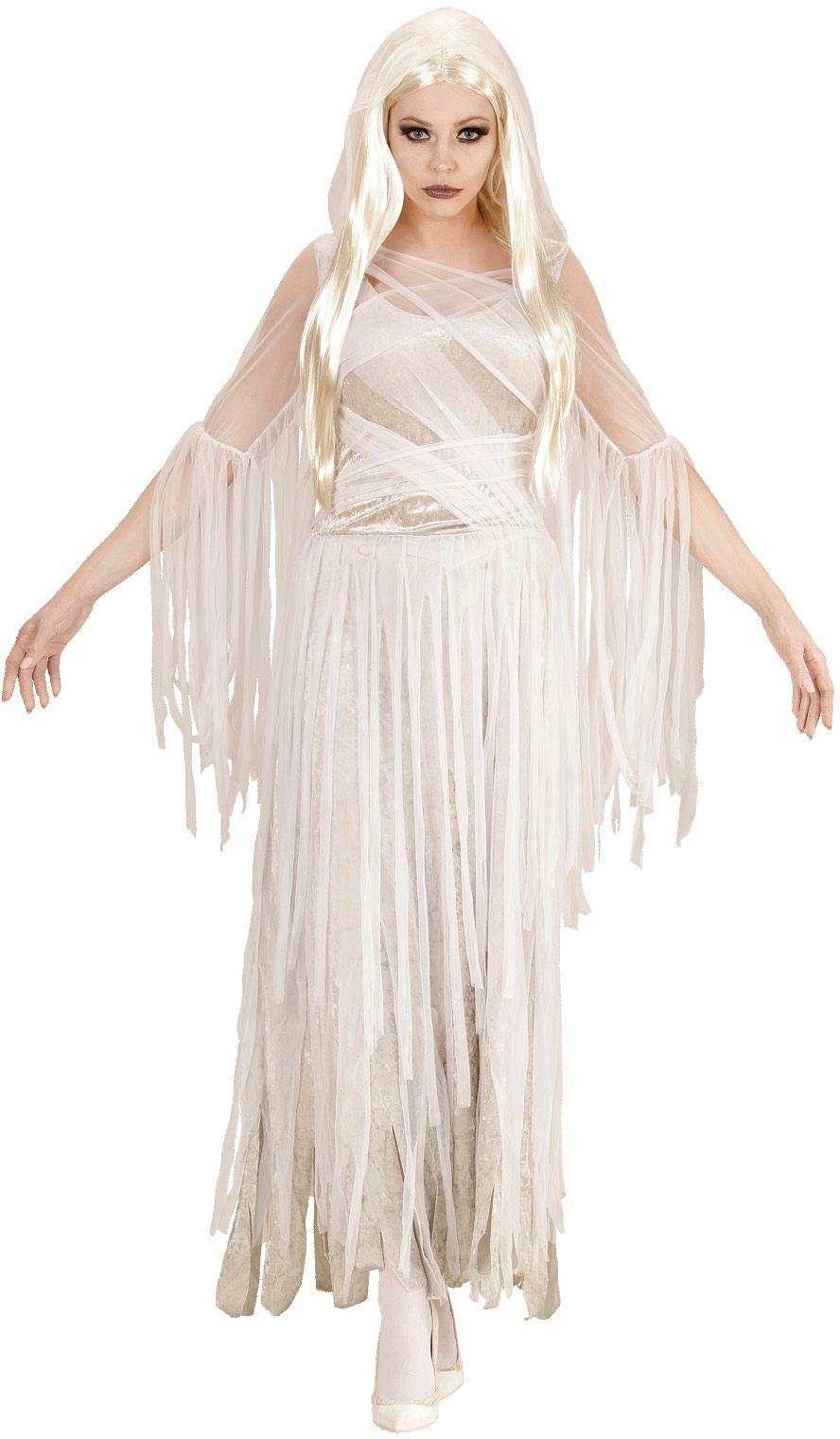 Witte geest jurk