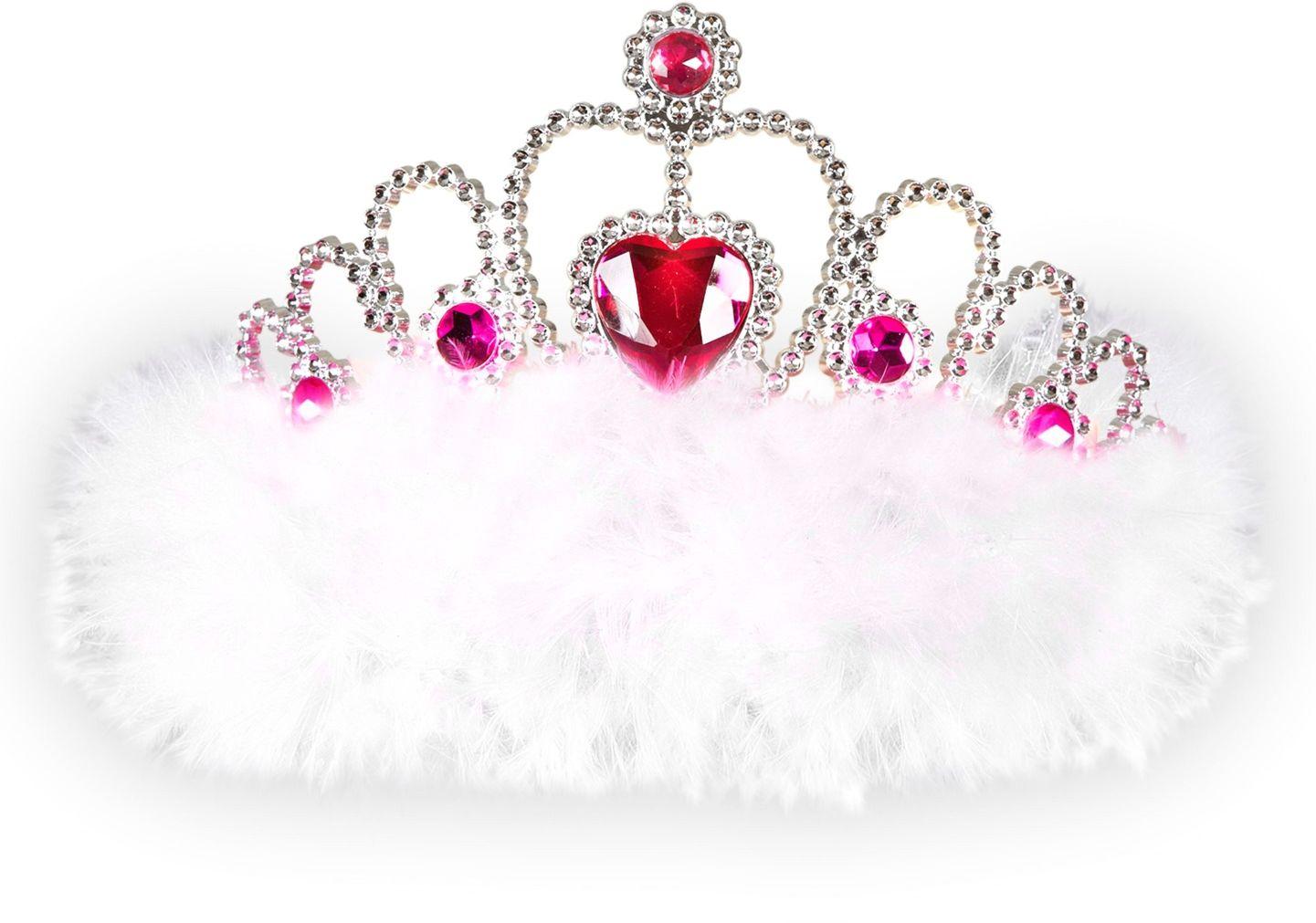 Witte Girls Night Out tiara