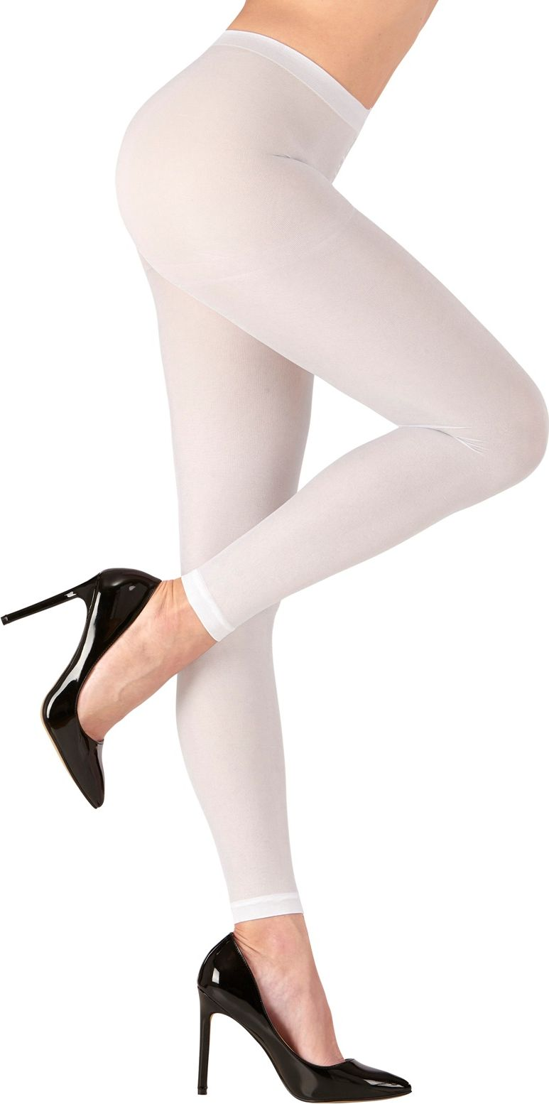 Witte leggings