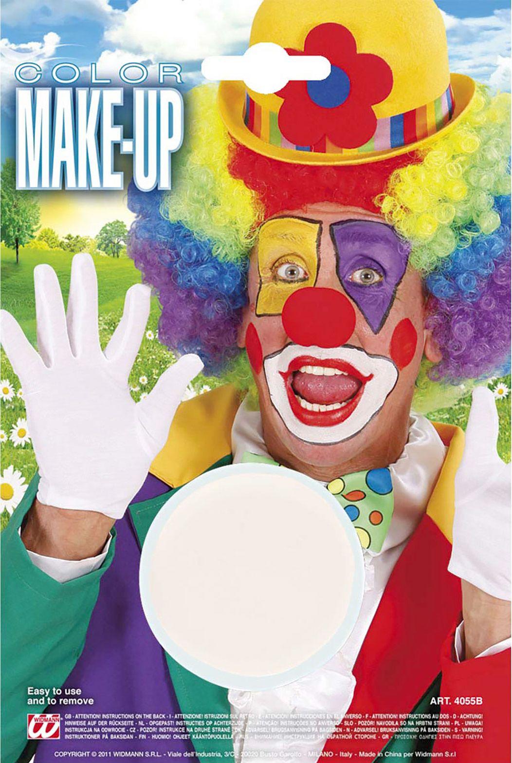 Witte make-up