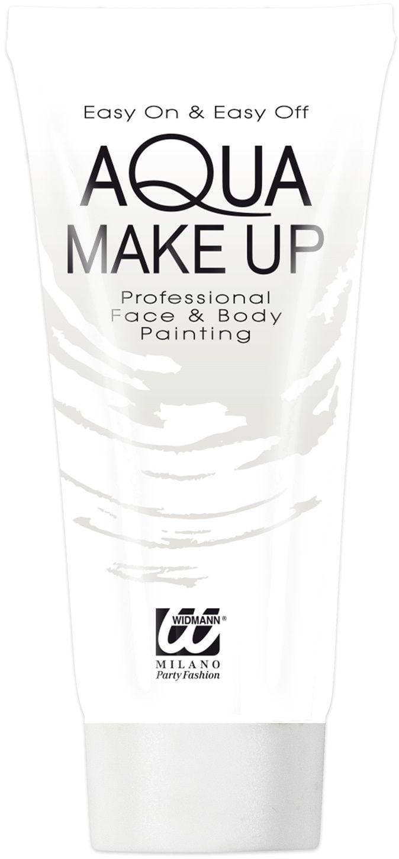 Witte make-up tube waterbasis
