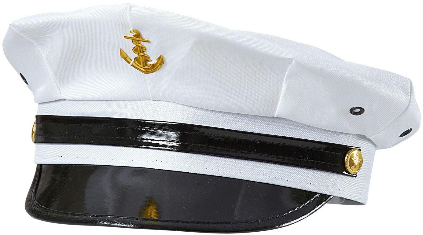 Witte marine officiers pet
