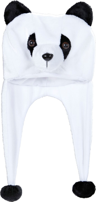 Witte panda muts
