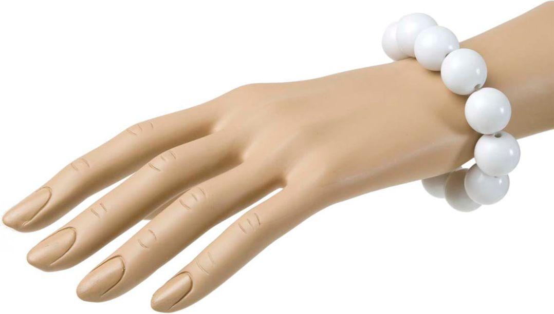 Witte parel armband jaren 50