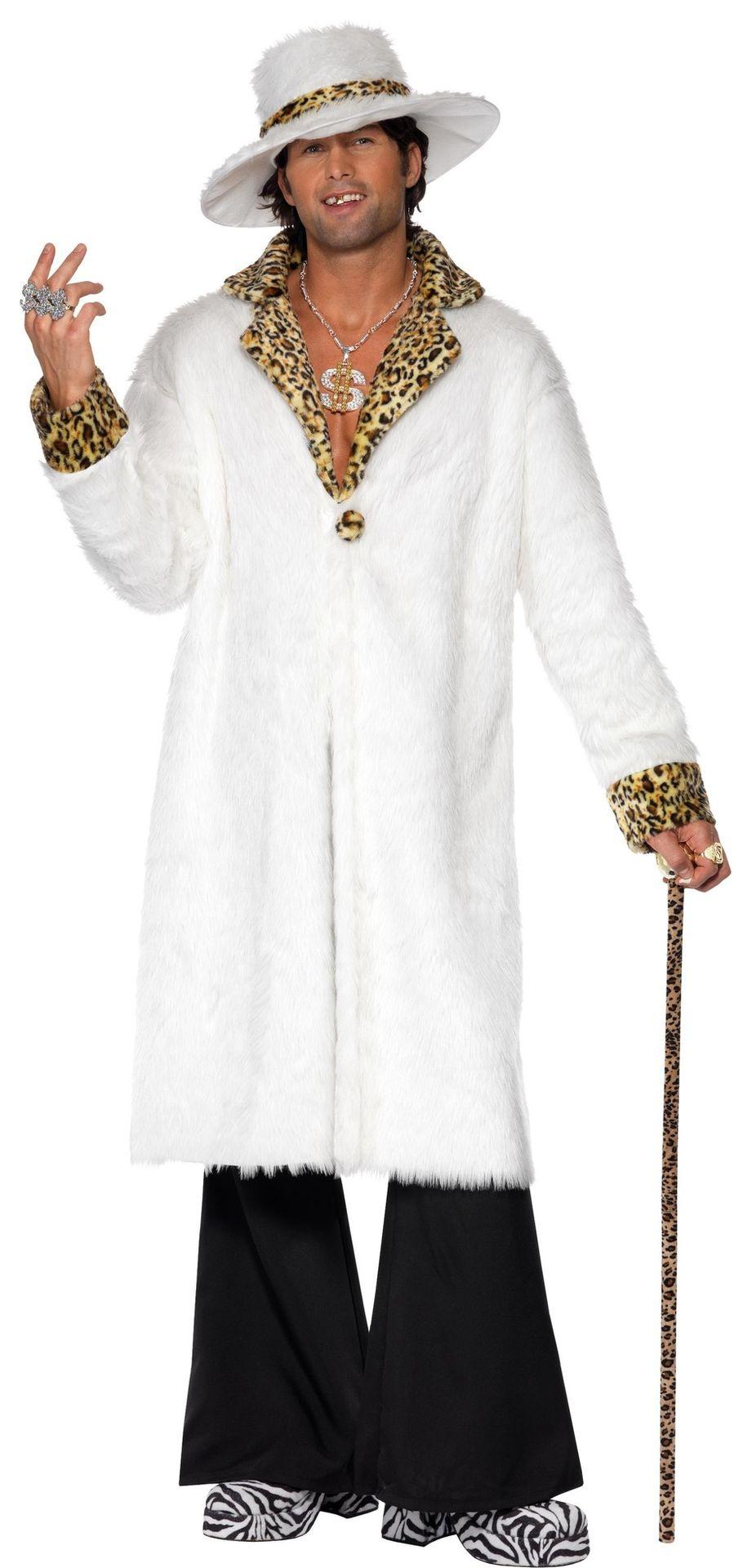 Witte pimp jas