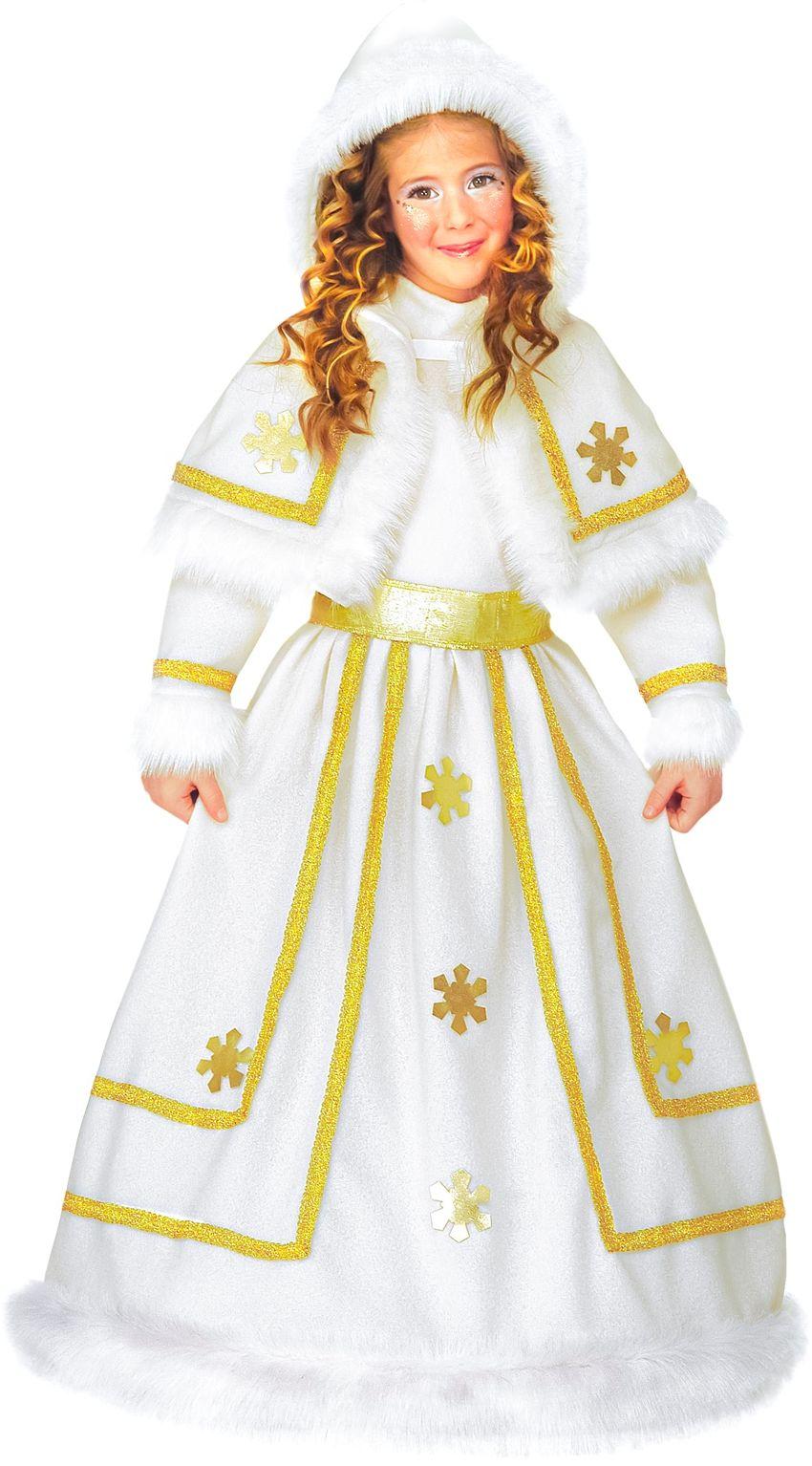Witte sneeuwprinses jurk
