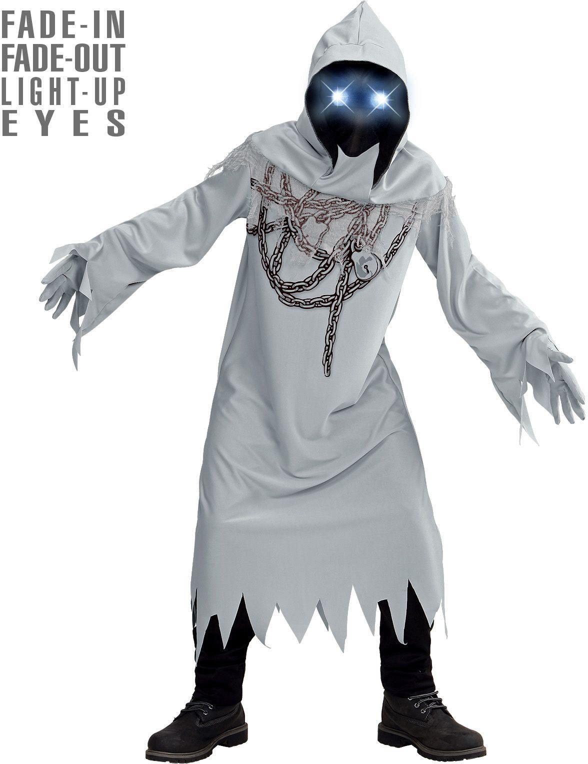 Witte spook kostuum