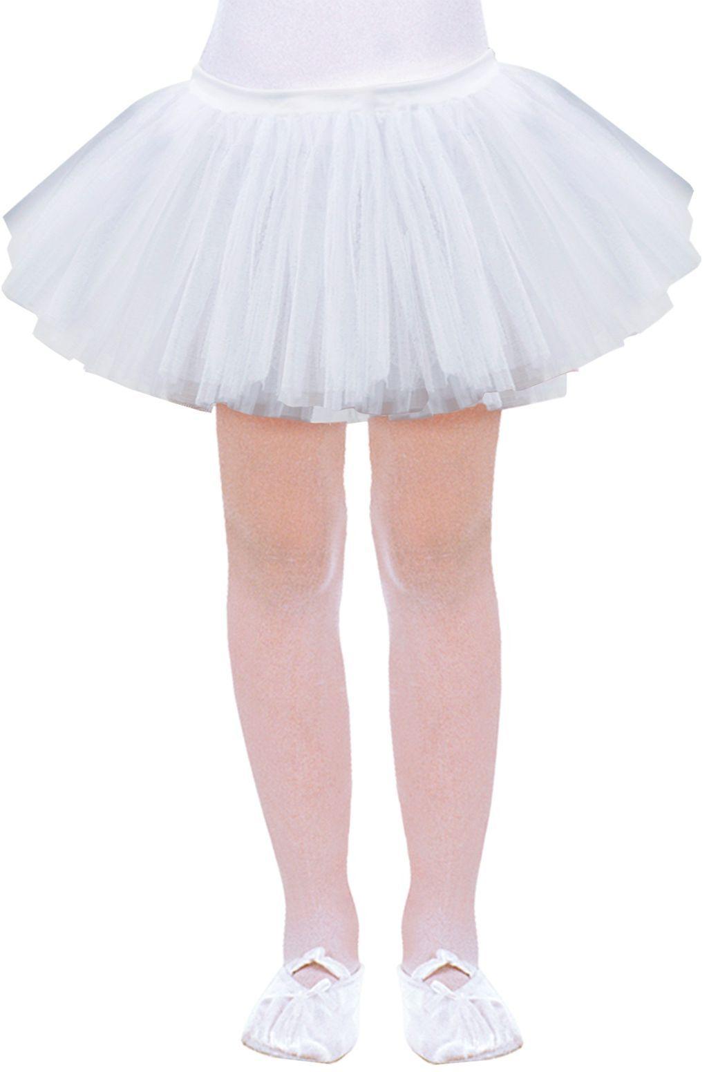 Witte tutu kind