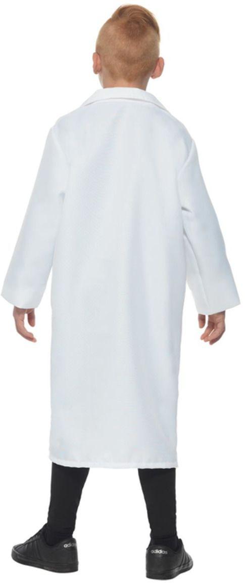 Witte wetenschapper lab jas
