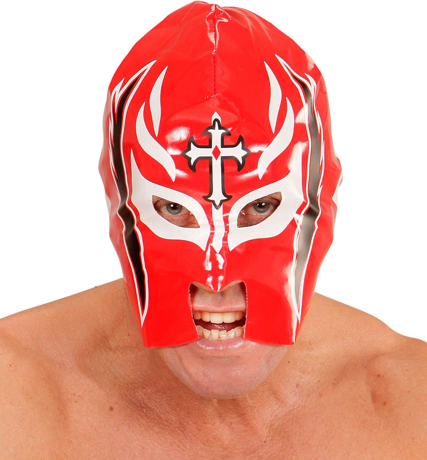 Worstelaar lucha libre masker rood