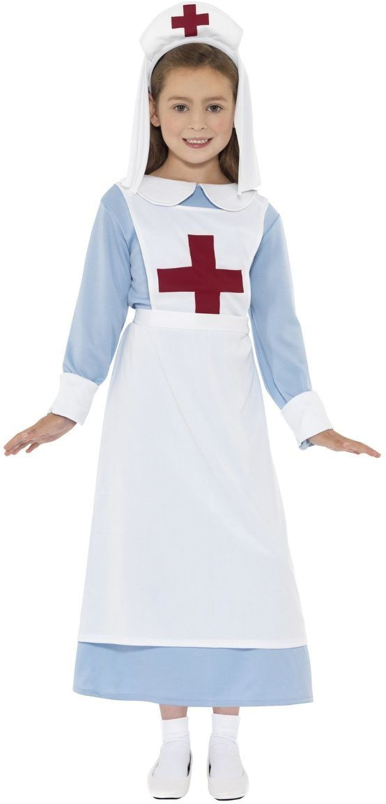 WW I verpleegster outfit meisjes