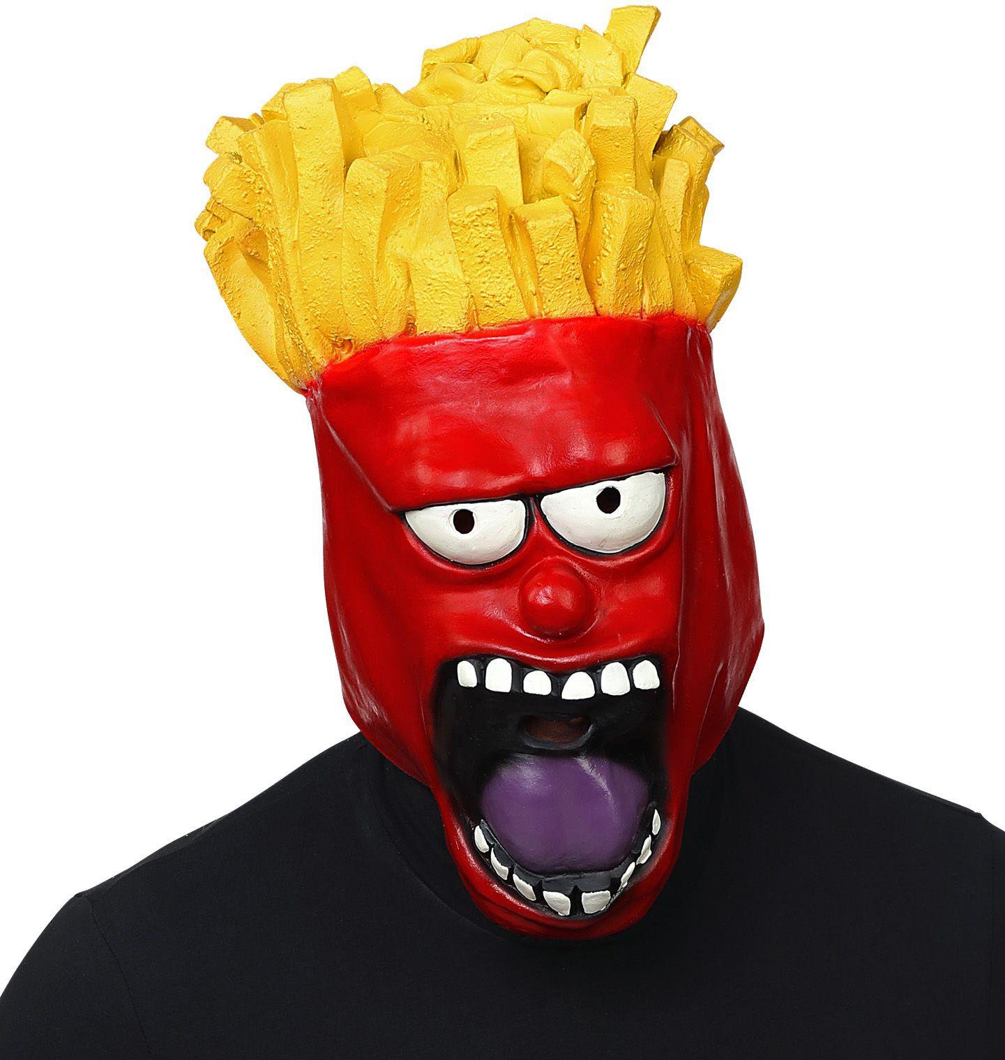 Zak patat masker