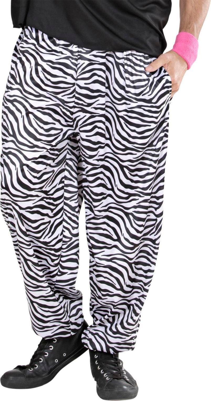Zebra baggy broek