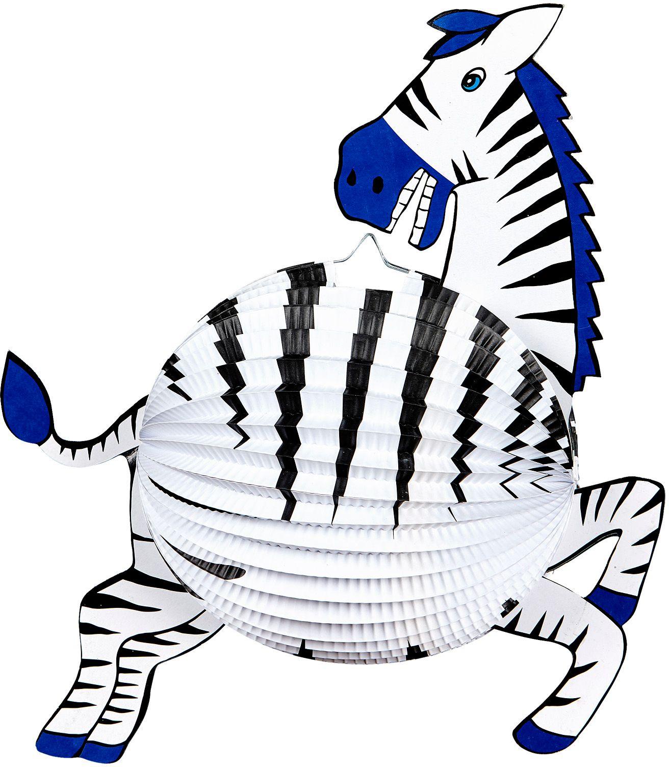 Zebra lampion