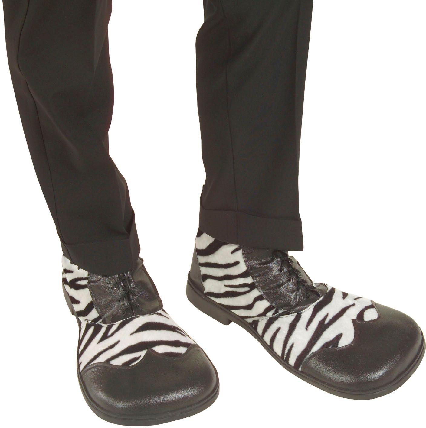 Zebra party schoenen