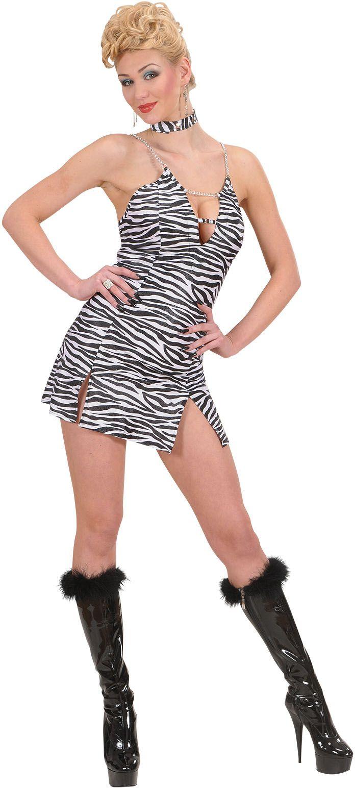 Zebra print jurkje