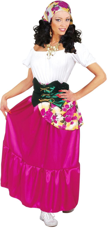Zigeuner vrouwen kostuum