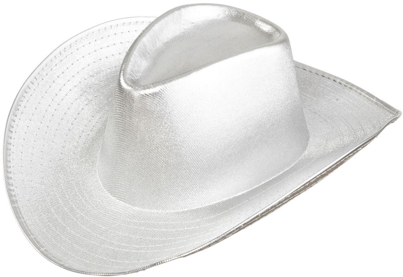Zilver cowboyhoed