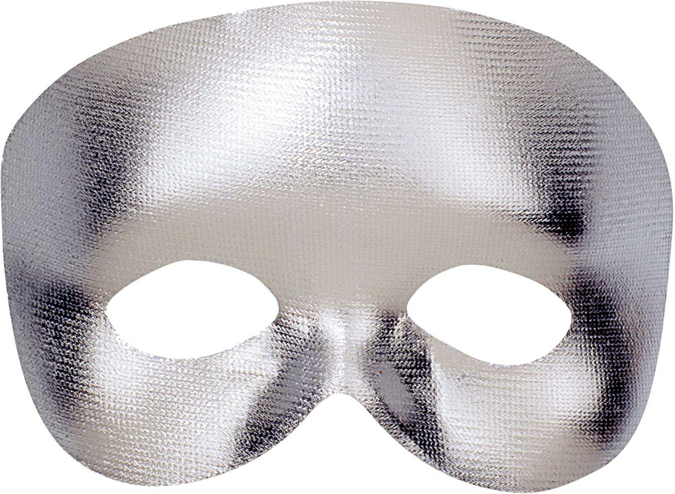 Zilver fantoom oogmasker