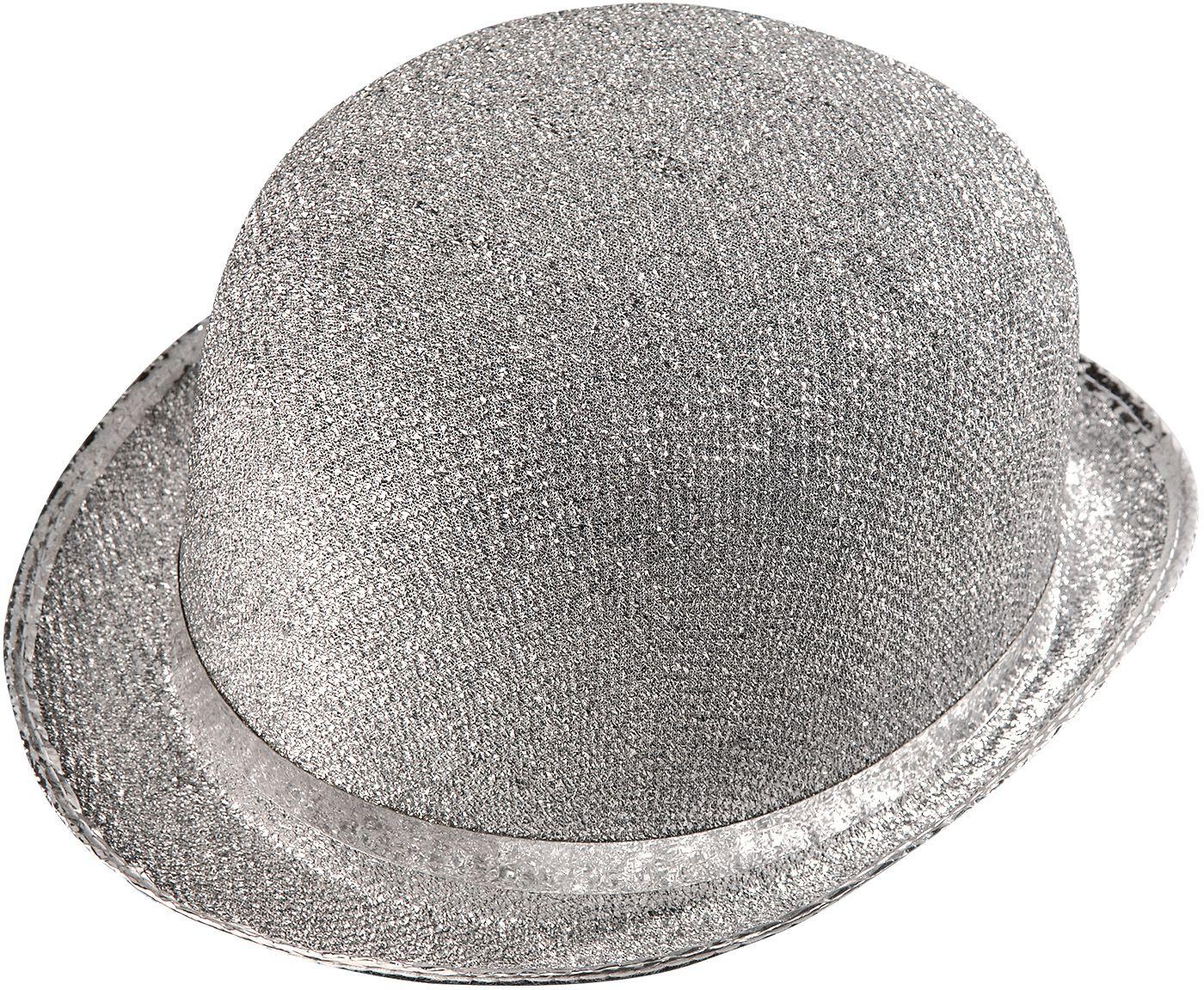 Zilveren lurex bolhoed