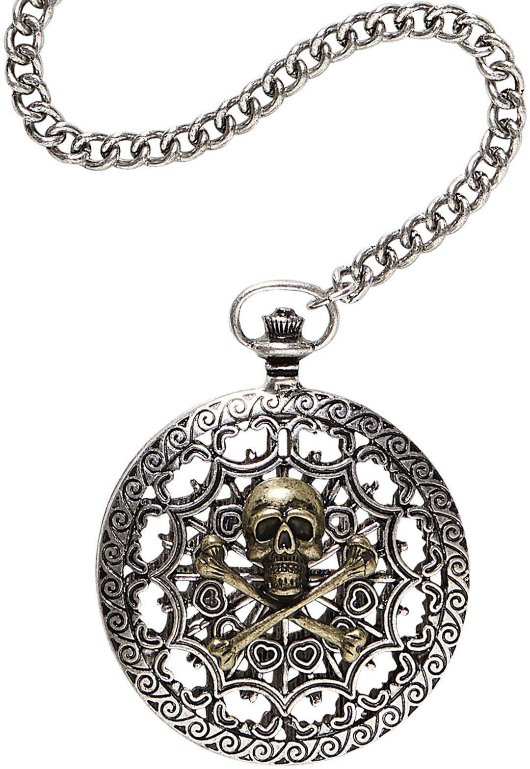 Zilveren piraten zakhorloge