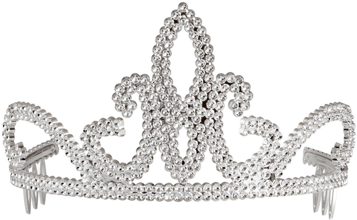 Zilveren prinsesjes tiara