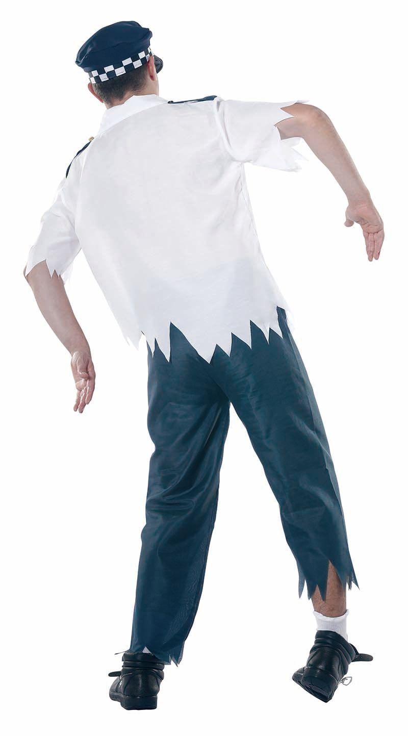 Zombie agent kostuum