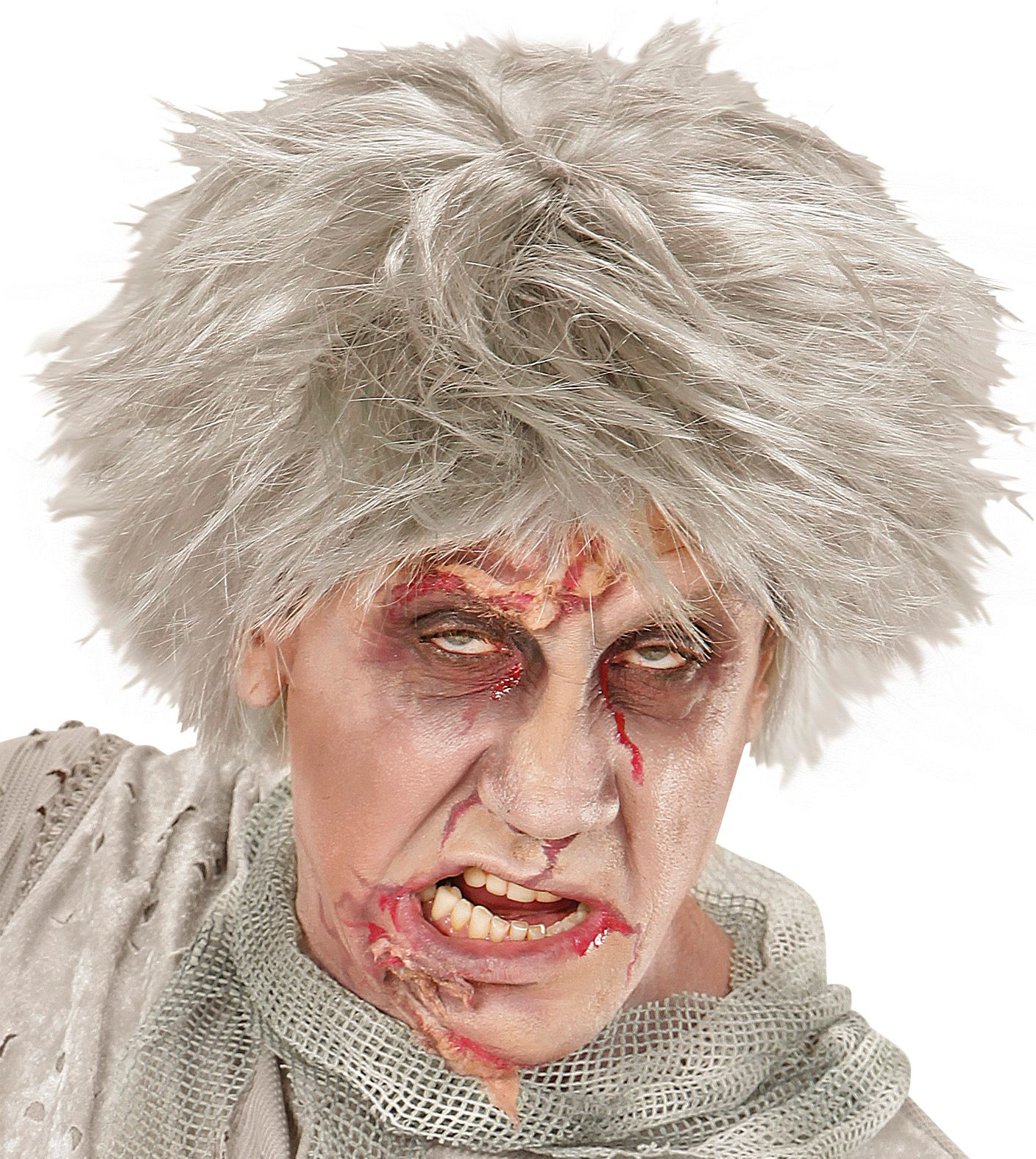 Zombie Andy pruik