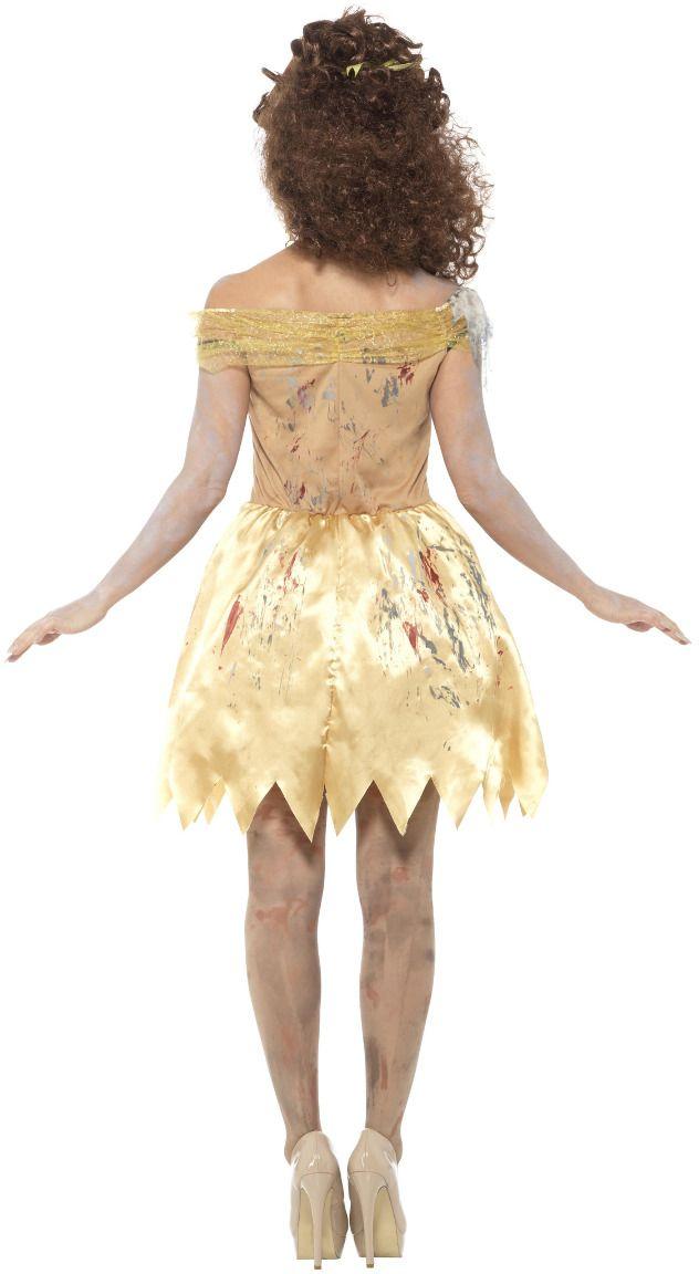 Zombie belle en het beest jurkje