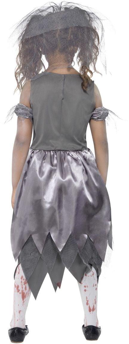 Zombie bruid kostuum meisjes