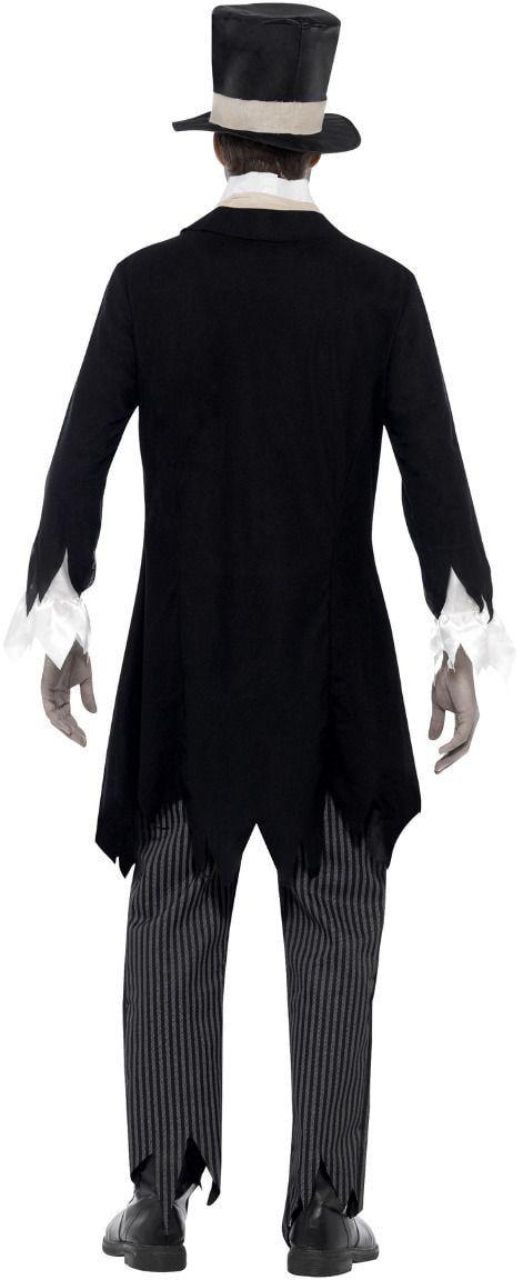 Zombie bruidegom outfit zwart