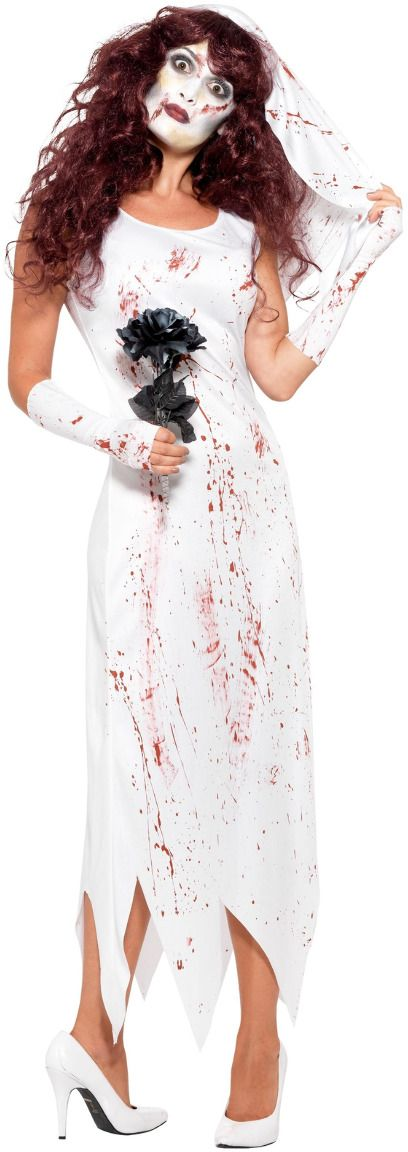 Zombie bruidsjurk dames