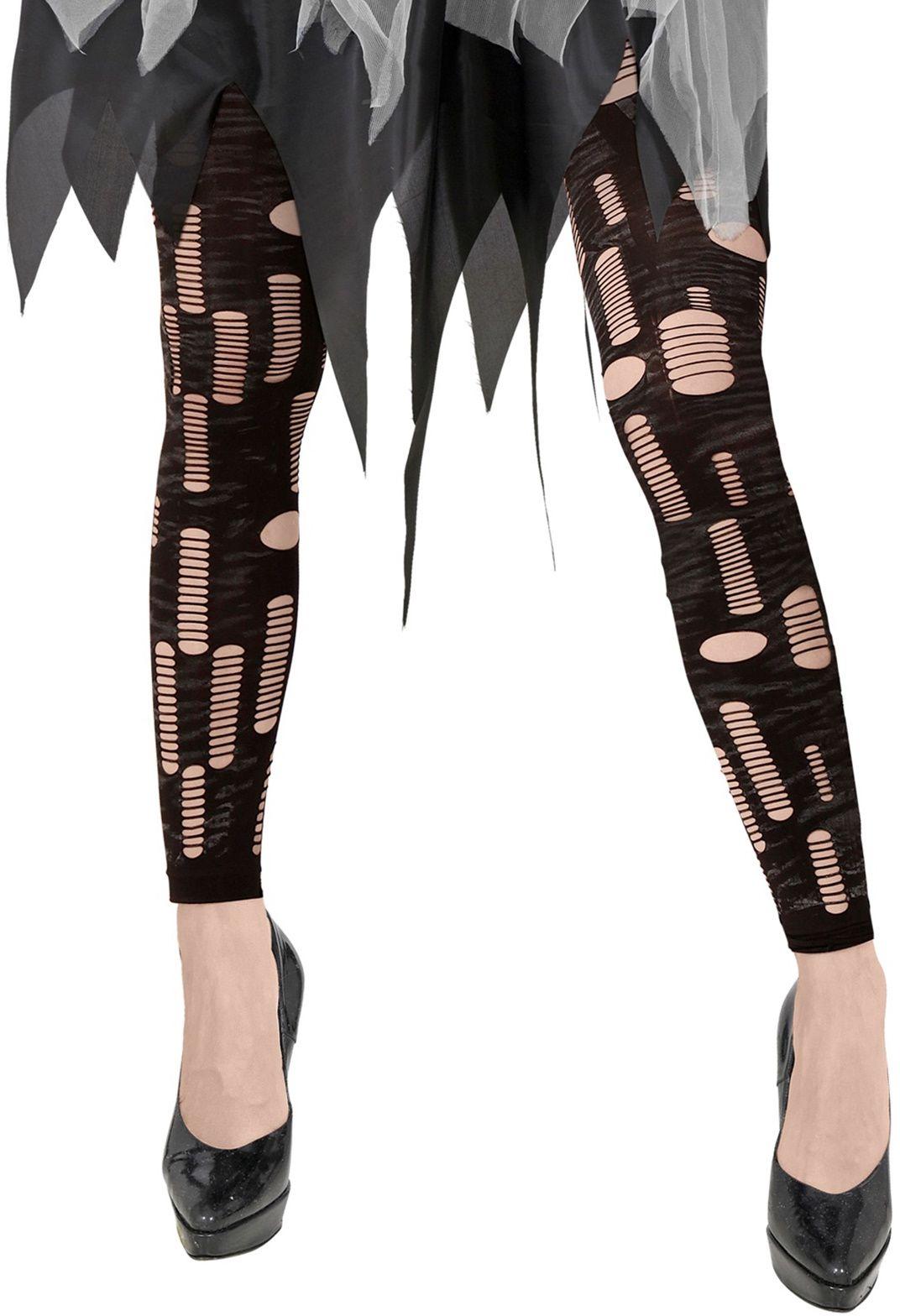 Zombie carnaval gescheurde legging