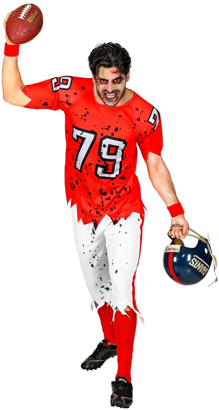 Zombie football kostuum