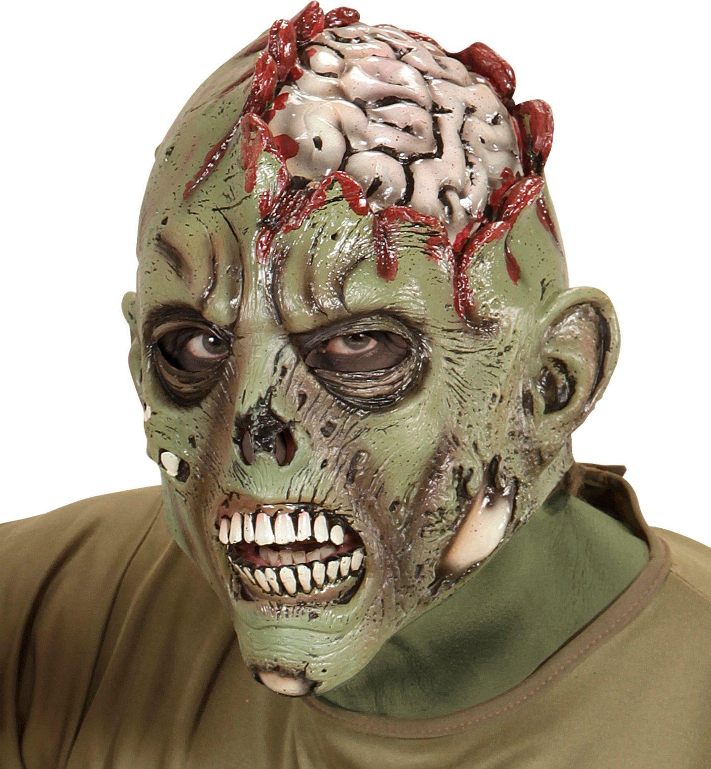 Zombie hersens masker
