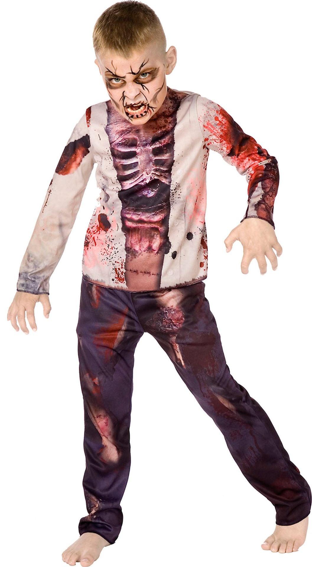 Zombie kostuum jongens