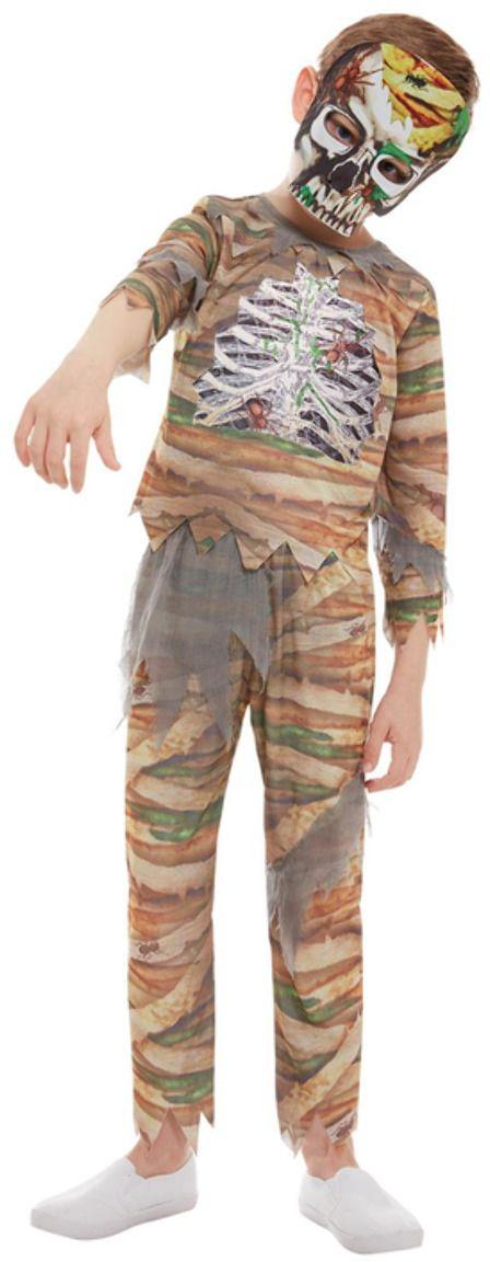 Zombie mummie kostuum jongens