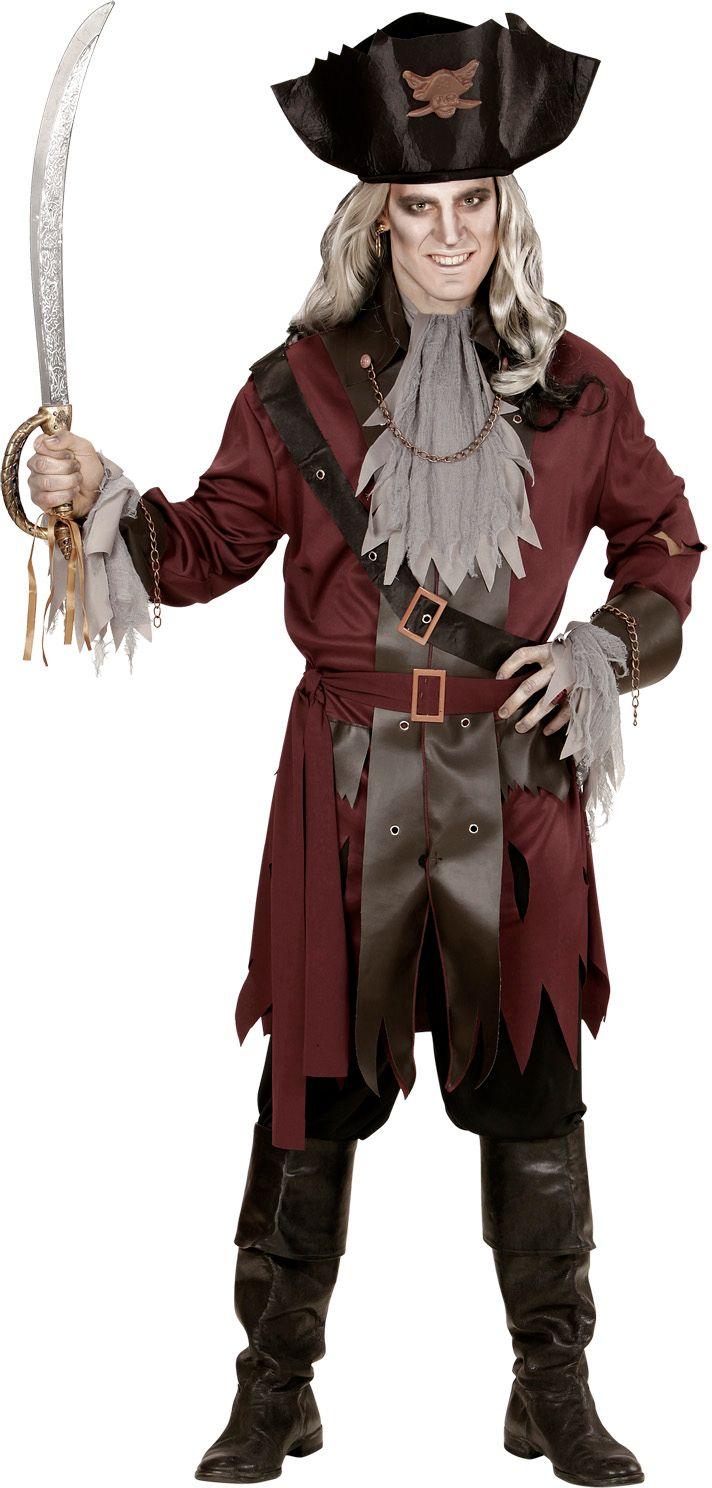 Zombie piraten kapitein