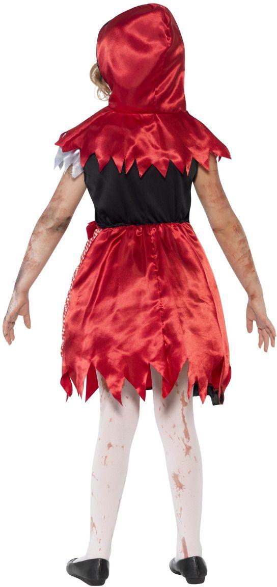 Zombie roodkapje kostuum meisjes