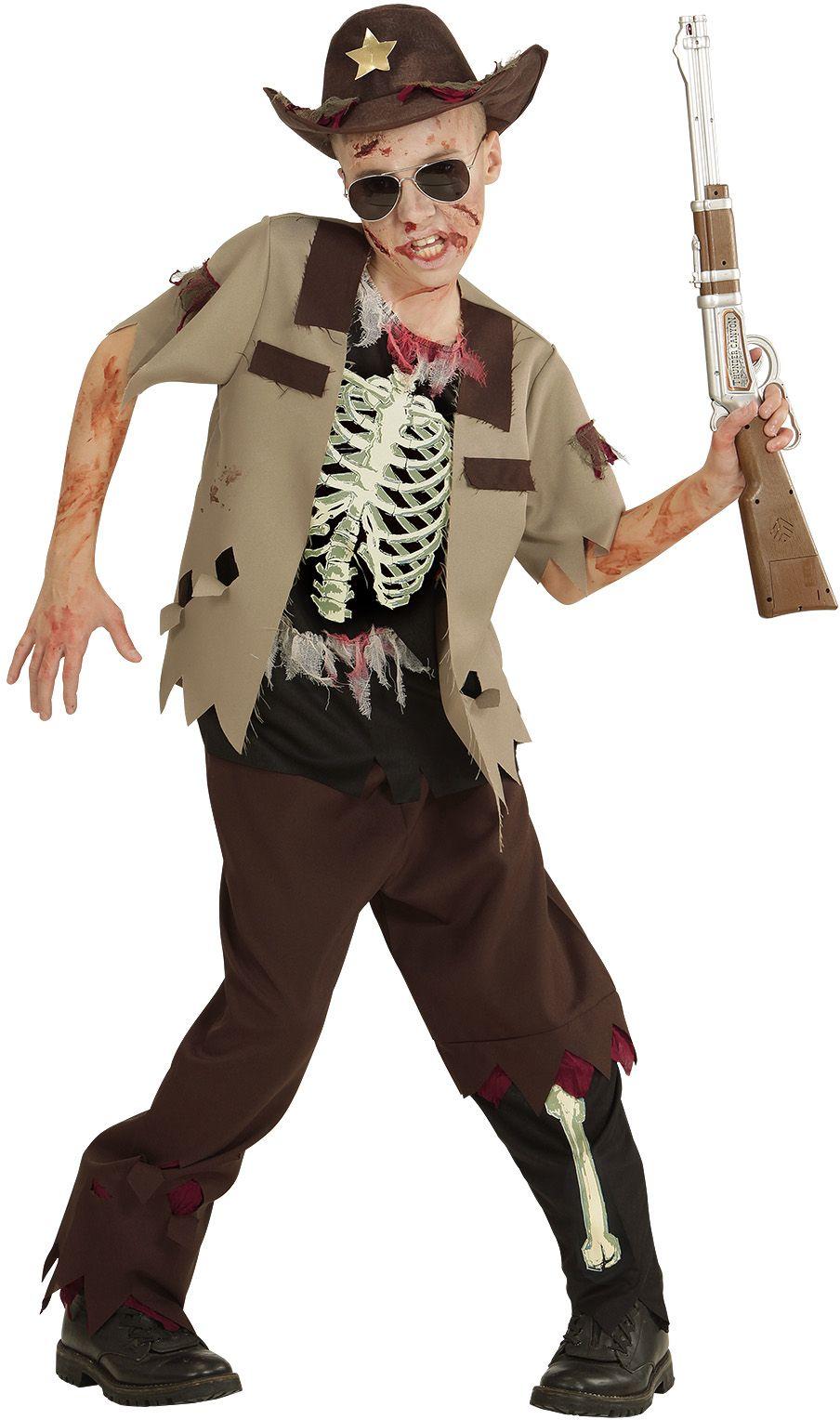 Zombie sheriff kostuum