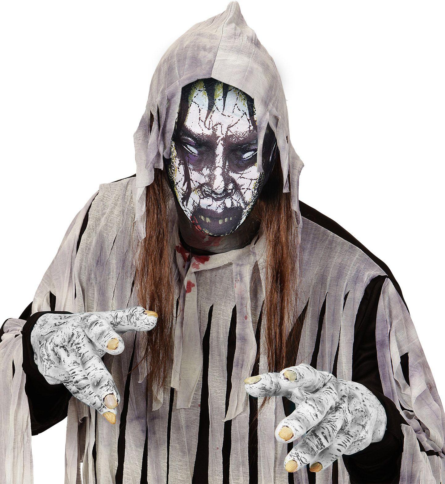 Zombie stoffen masker