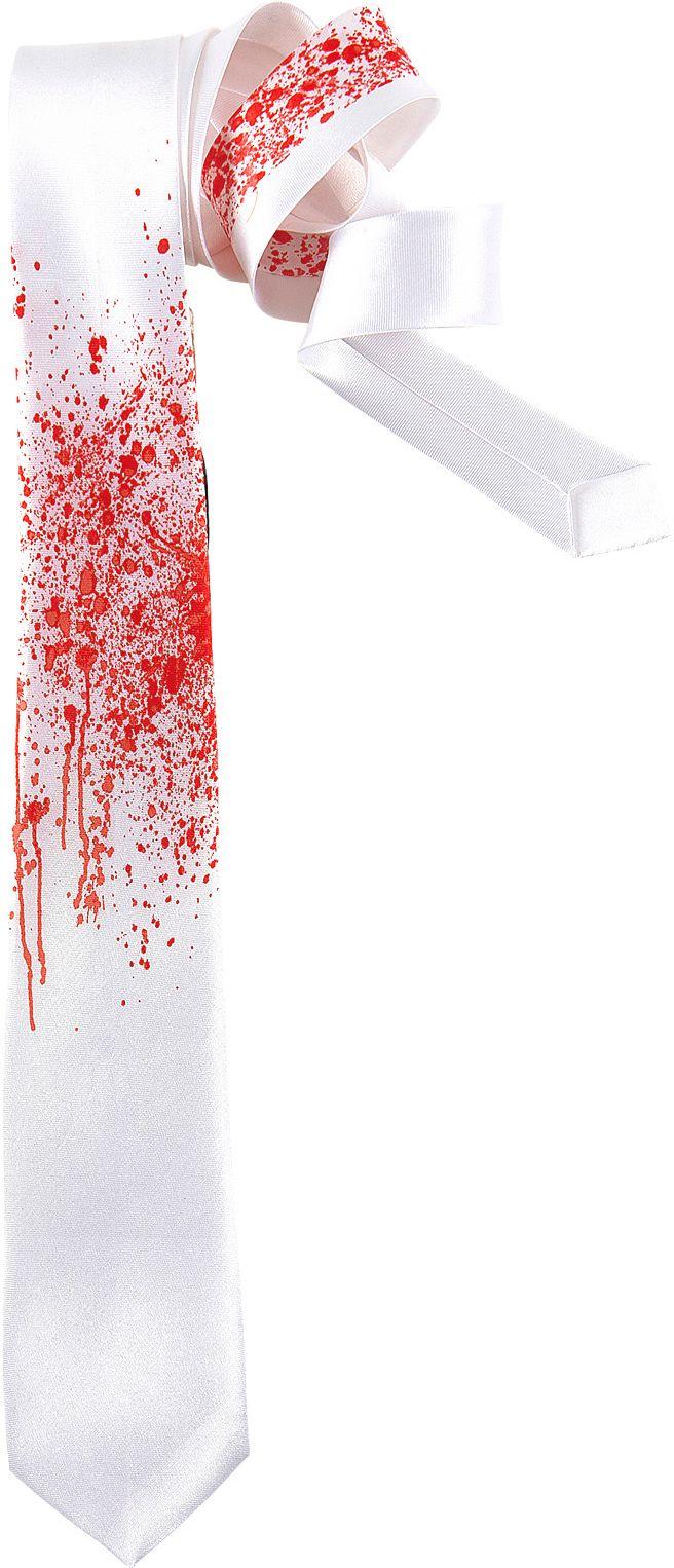 Zombie stropdas bloed