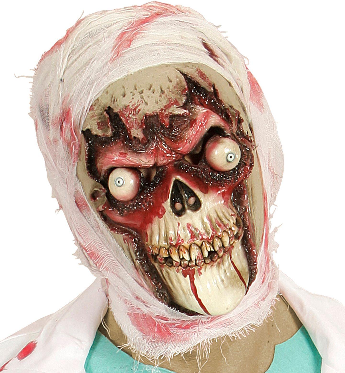 Zombieschedel masker
