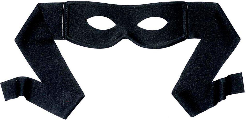 Zorro zwart oogmasker