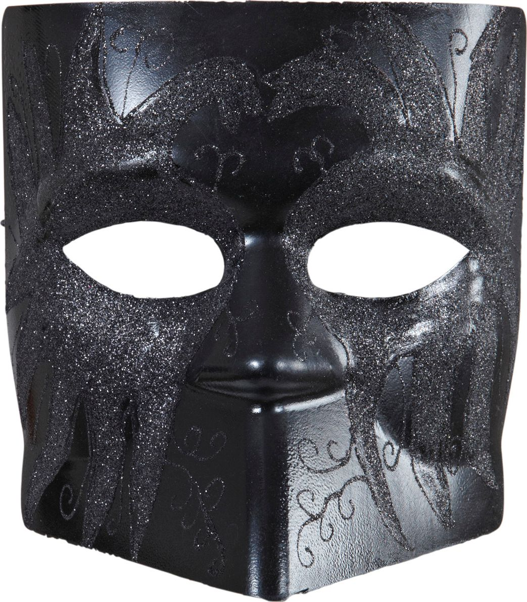 Zwart anoniem masker