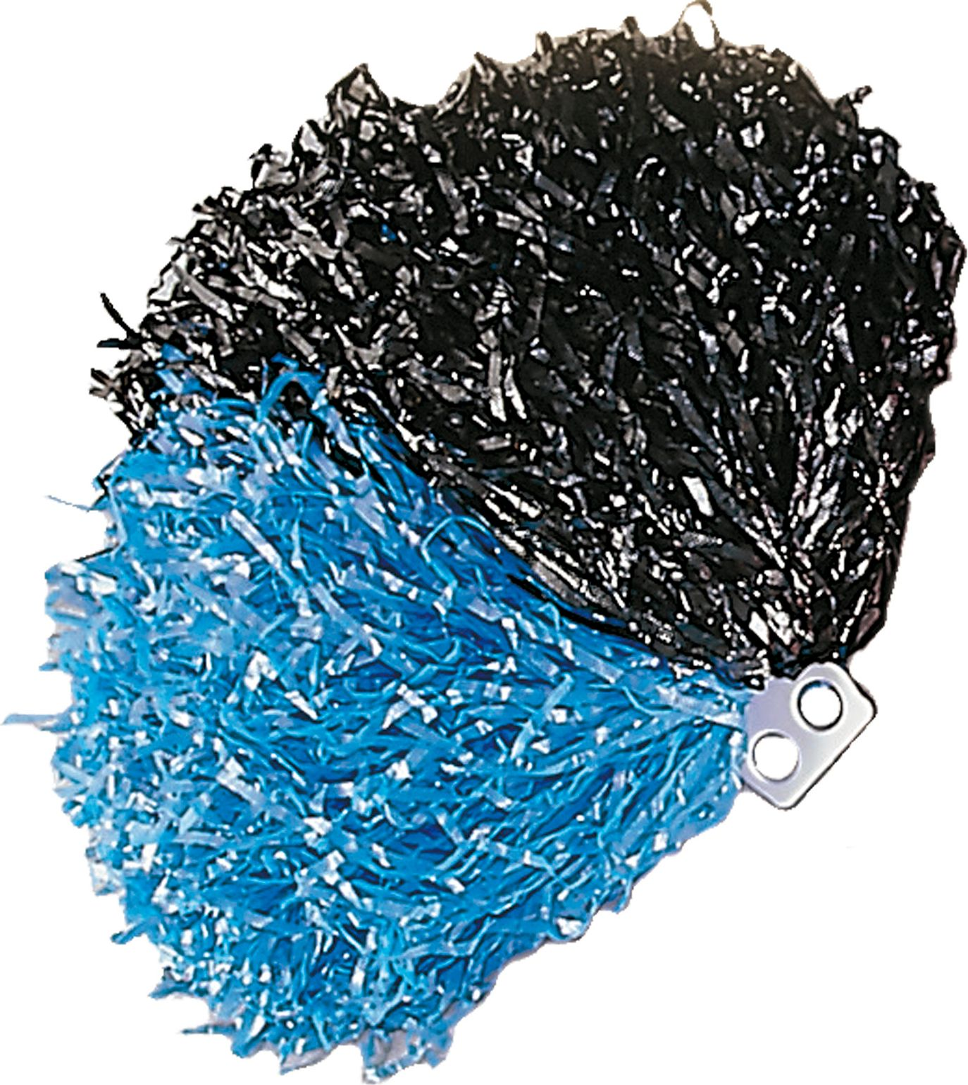 Zwart blauwe cheerleader Pom Pom