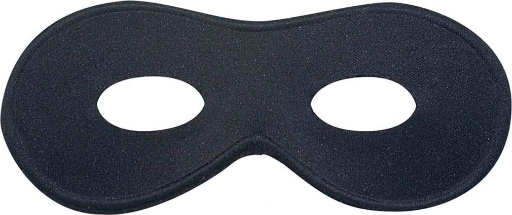 Zwart Chevalier oogmasker