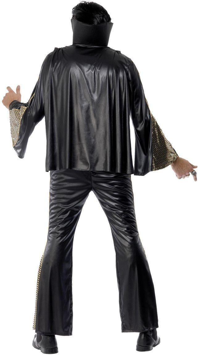 Zwart Elvis Presley pak